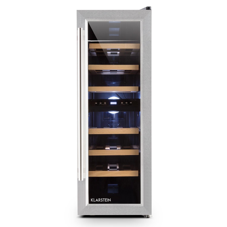 Klarstein Reserva Duett 12 • Weinkühlschrank • Getränkekühlschrank ...