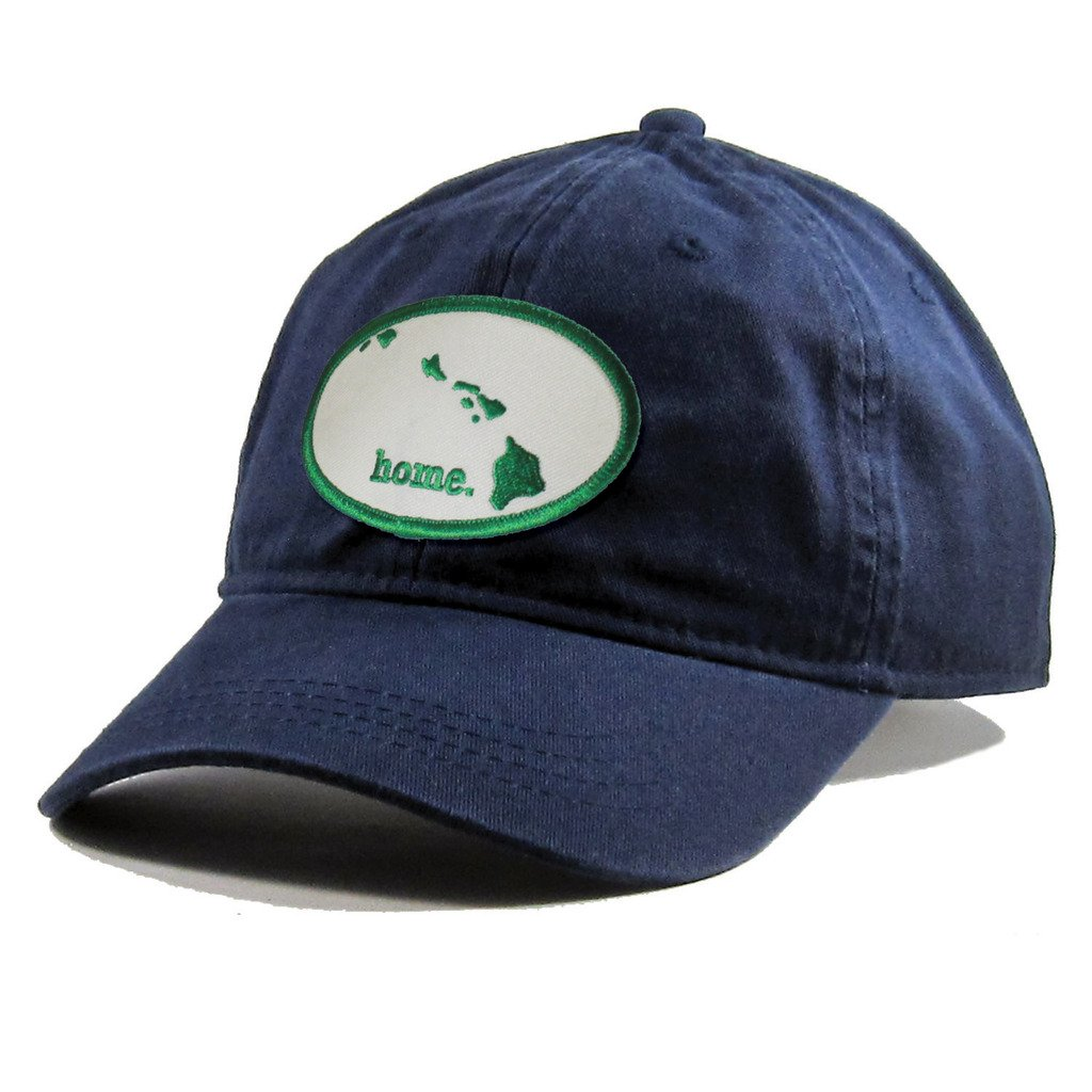 Homeland Tees Mens Hawaii Home Patch Navy Cotton Twill Hat