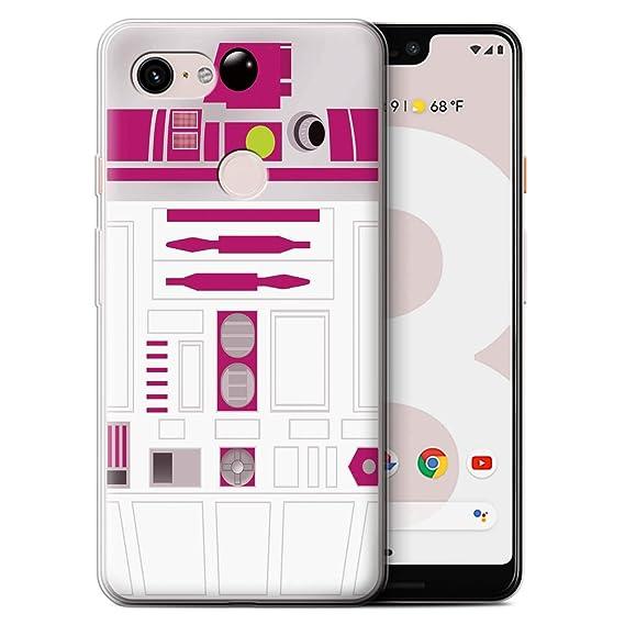 Amazoncom Stuff4 Gel Tpu Phone Casecover Google Pixel 3 Xlpink