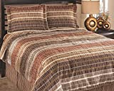 Ashley Furniture Signature Design - Wavelength Bedding Set - Queen - Contains Bed Skirt, 2 Shams & Duvet Cover - Multi
