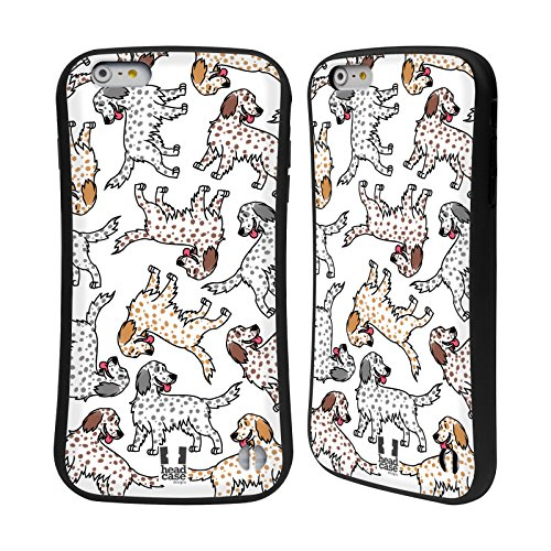 Head Case Designs English Setter Dog Breed Patterns 12 Hybrid Case for Apple iPhone 6 Plus / iPhone 6s Plus English Setter Accessories