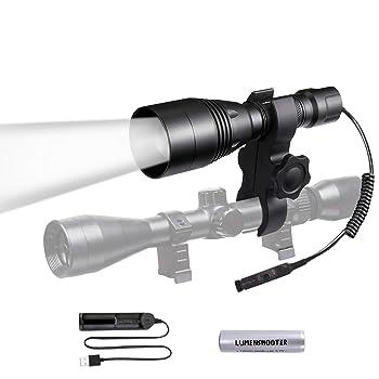 LUMENSHOOTER A8S Scope Mounted Beam Adjustable IR Illuminator