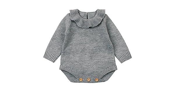Amazon.com: Bokeley - Traje de punto para bebé recién nacido ...