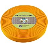 Country Brook Design 1-Inch Polypropylene Webbing, 100-Yard, Gold