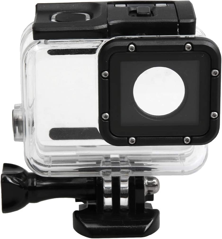 7 x 6 cm Premium Material XIAOMIN for GoPro HERO5 30m Waterproof PC /& ABS Housing Protective Case Backcover Size Touch Back Cover with Buckle Basic Mount /& Long Screw