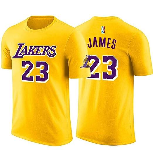 FANS LOVE Camiseta NBA Los Angeles Lakers James # 23 Jersey ...