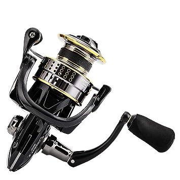 Spinning Fishing Reel Peso Ligero de Verano Ultra Suave Potente ...
