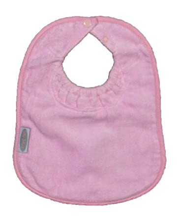 Silly Billyz Toweling Bandana Bib Pale Pink Accessories