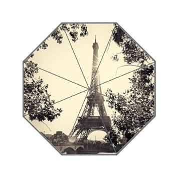 lifei Business en París de la torre Eiffel personalizados UV paraguas de hombres paraguas paraguas personalizados