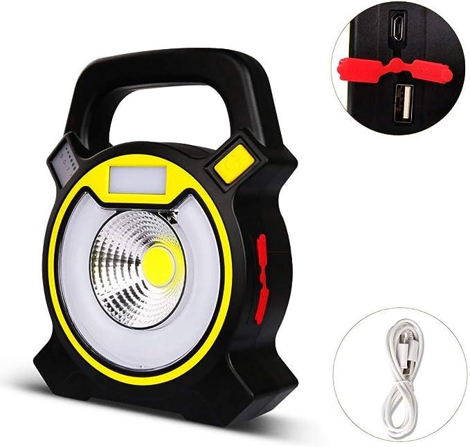 Portátil Lámpara inspección emergencia LED COB Linterna Luz ...