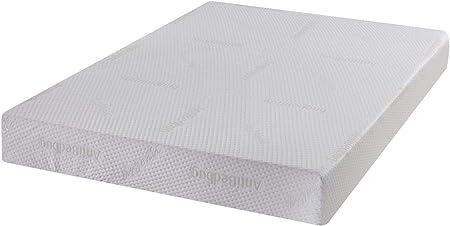 Pureflex Anti Bed Bug Memory Foam Mattress Hypoallergenic Double King Amazon Co Uk Kitchen Home