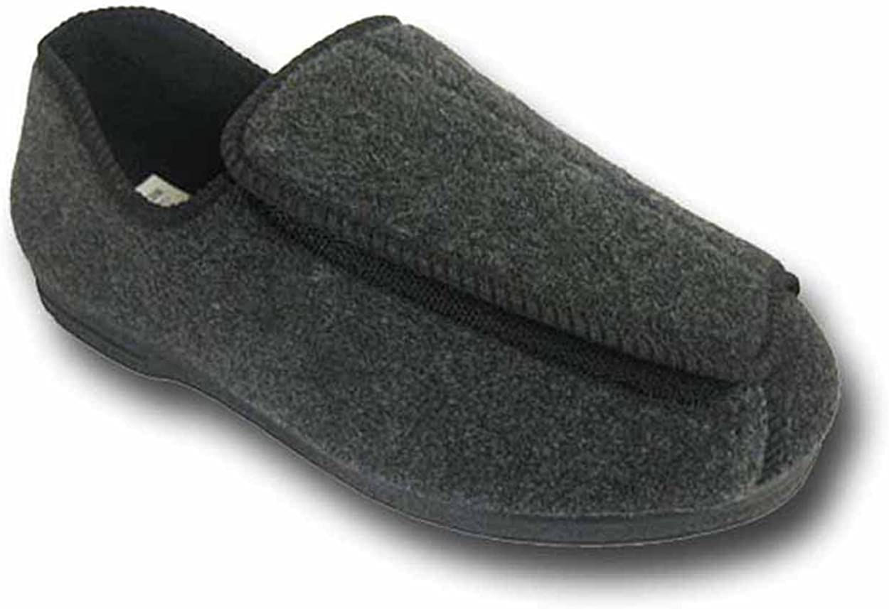 Coolers Mens CosyComfort 204 Adjustable Orthopaedic Slippers