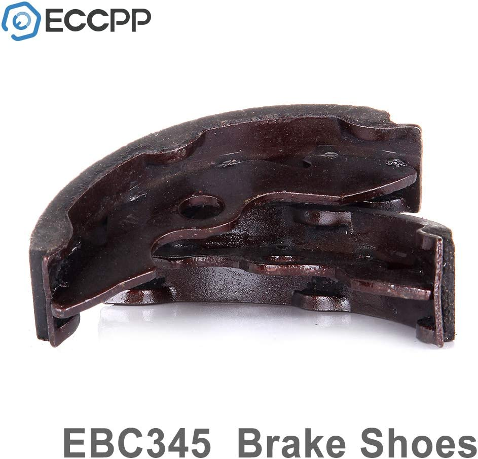 ECCPP EBC345 Front Brake Shoes Fit for 1988-2000 Honda FourTrax 300 TRX300,1997-2001 Honda Recon 250 TRX250 2x4,2002-2009 2011 Honda Recon 250 TRX250TE 2x4 ES,2002-2009 2011 Honda Recon 250 TRX250TM