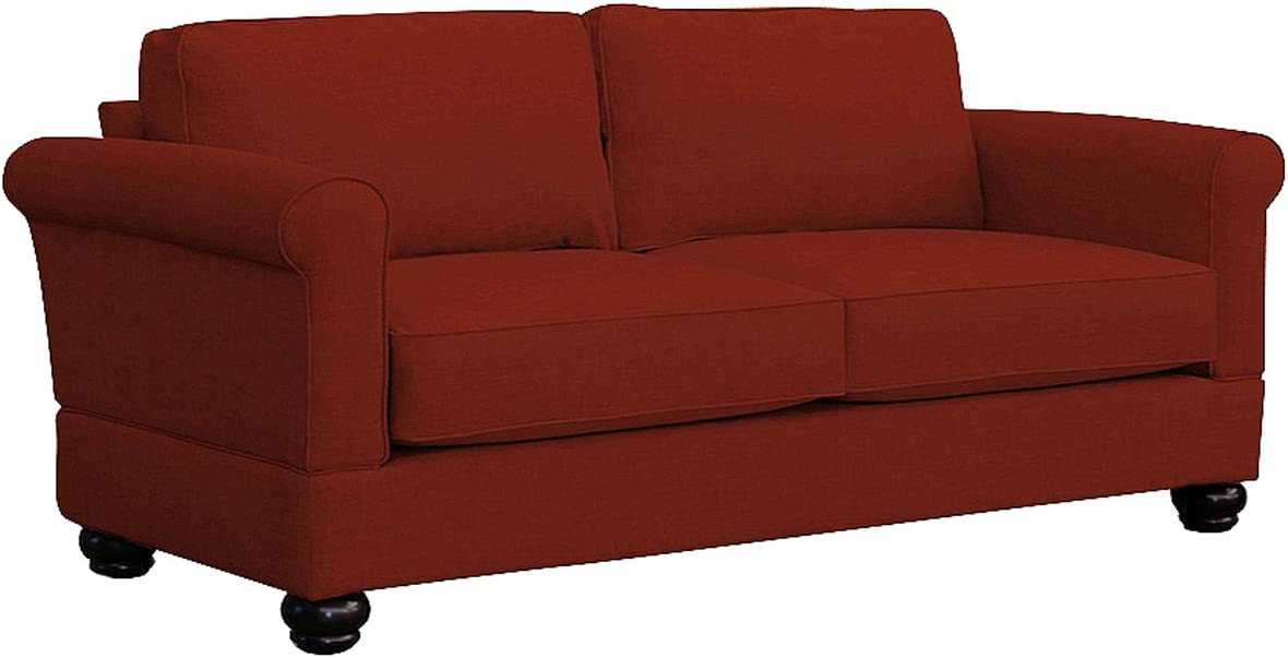 Furniture For Living Gregory Loveseat, Red