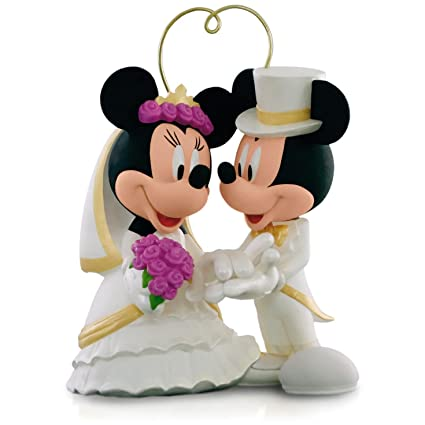 Amazon.com: Hallmark I Do Times Two Mickey Mouse and Minnie Mouse