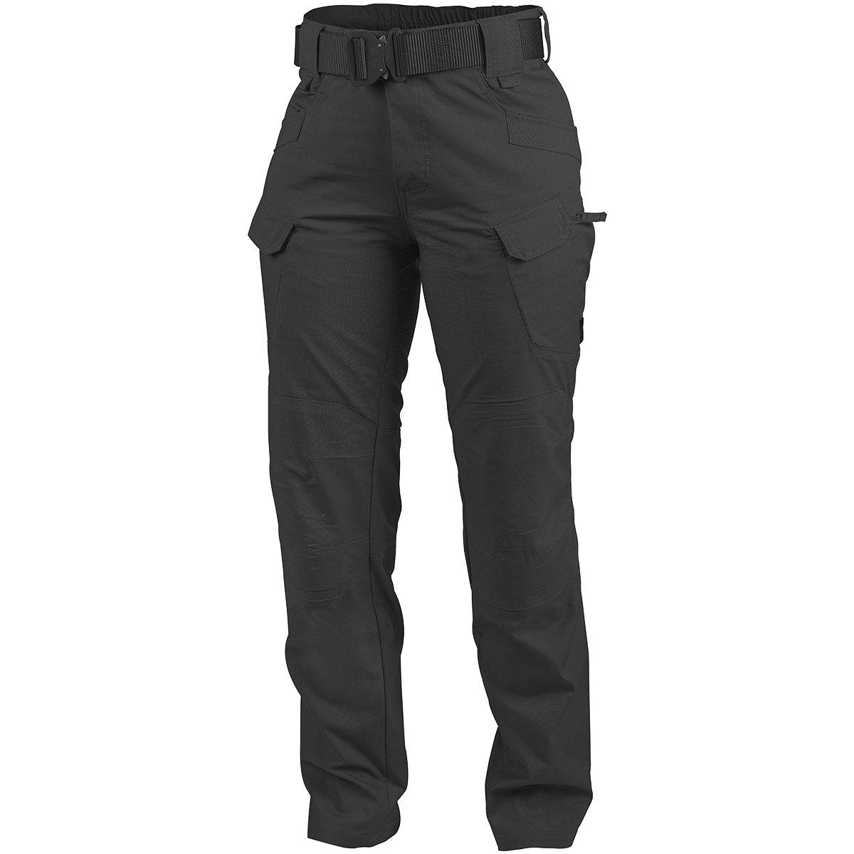 Helikon Women's UTP Trousers Black Polycotton Ripstop Size 32/34