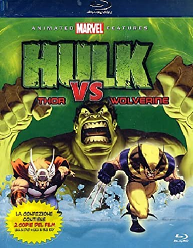 hulk vs marvel animated features - combo pack blu-ray + dvd ...