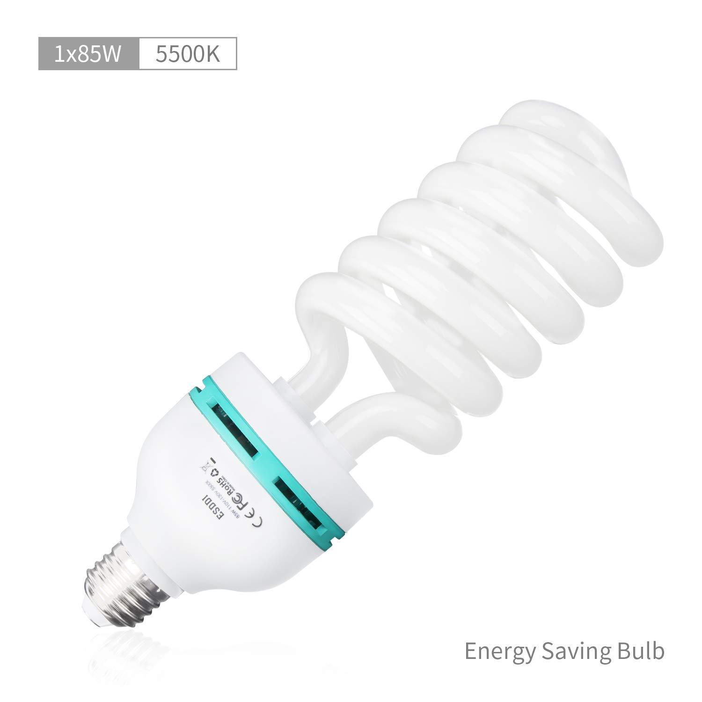 ESDDI Photography Daylight Balanced Bulb Lighting Photo Studio by ESDDI