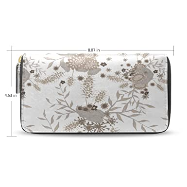 Amazon.com: Winter Holly Berries - Monedero de piel ...