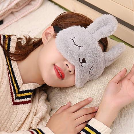 Máscara de Ojos para Dormir Lindo, Felpa Animal Ojo Cubierta ...