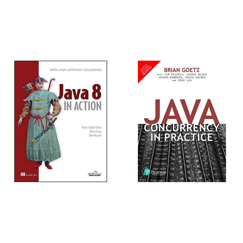 Java 8 in Action+Java Concurrency in Practice 1/e(Set of 2 books)