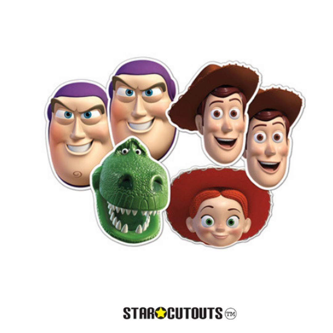 Star Cutouts Disney SC598 Toy Story Party Stand in Child Size Multicolour