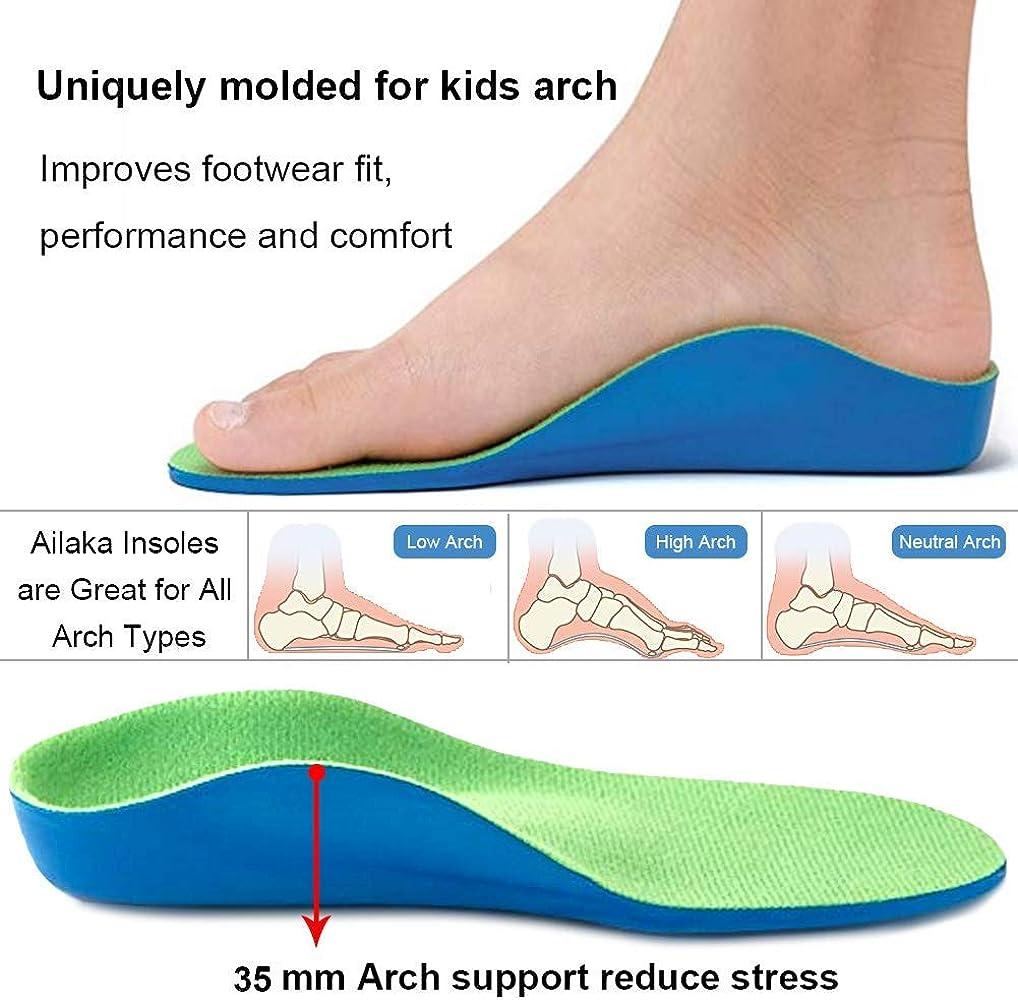 Ailaka Kids Orthotic Arch Support Shoe