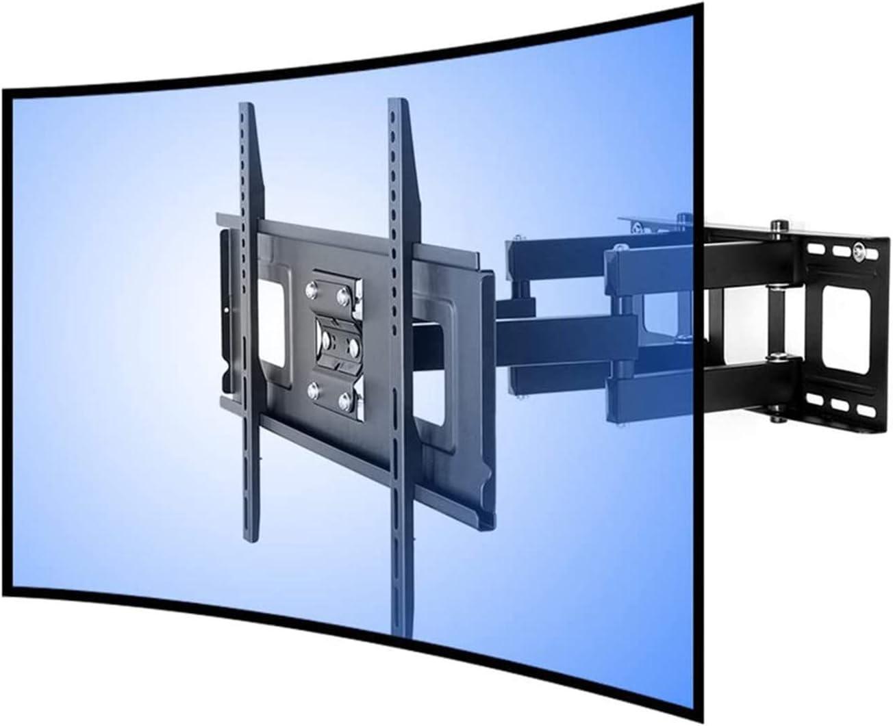 FLEXIMOUNTS CR1 Soporte de Pared para TV Curvo cuadra a televisor UHD OLED 4k Samsung LG Vizio etc de 32