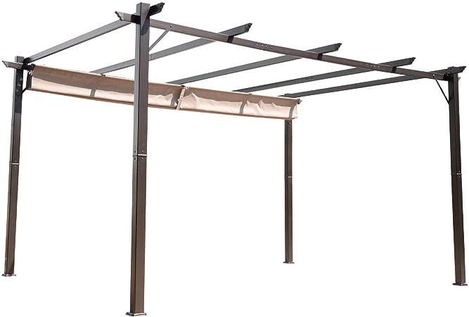 MRT SUPPLY - Toldo de pérgola para Exteriores de 10 x 13 pies con Libro electrónico: Amazon.es: Jardín