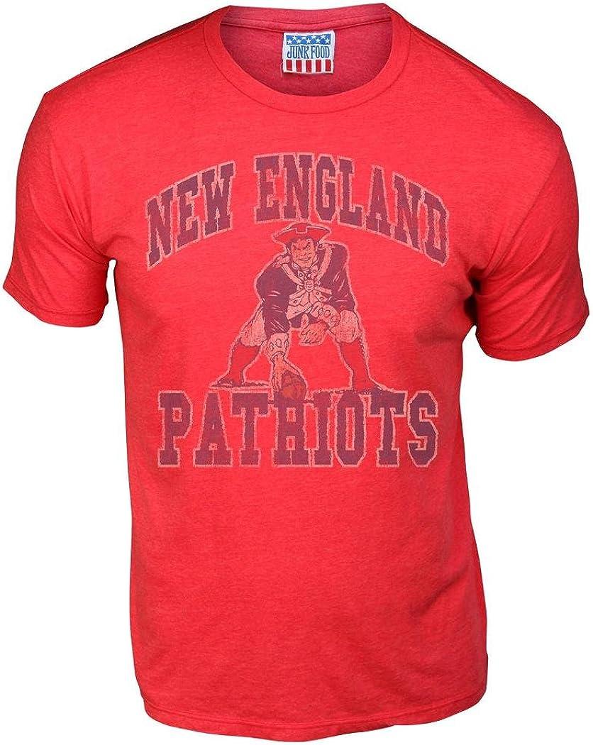 Top 7 Patriots Junk Food Tshirt