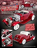 New 1:18 Grand National Deuce Series 1932 Red Ford Roadster Release 5 Diecast Model Car By ACME