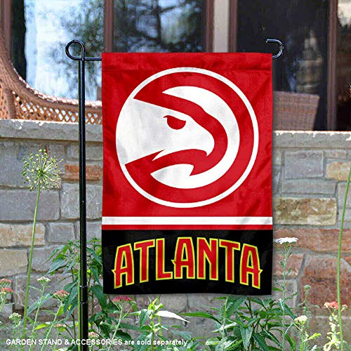 - Wincraft Atlanta Hawks Double Sided Garden Flag