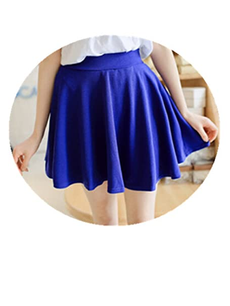 8b04b214d7 Orcan Bluce Summer Style Korean Version Skirts Safty Mini Skirt Women's  Spring and Summer Solid High