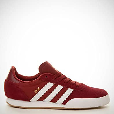 adidas Silas SLR Schuhe Sneaker Turnschuhe Trainers Rot Wildleder