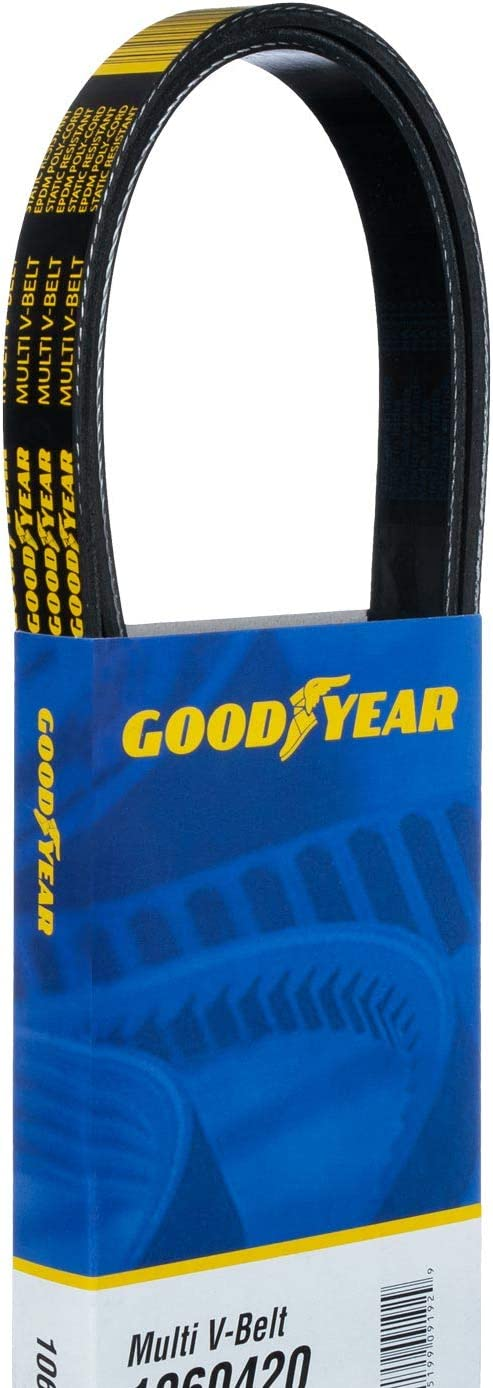 Goodyear 1061055 Serpentine Belt 6-Rib 105.5 Length
