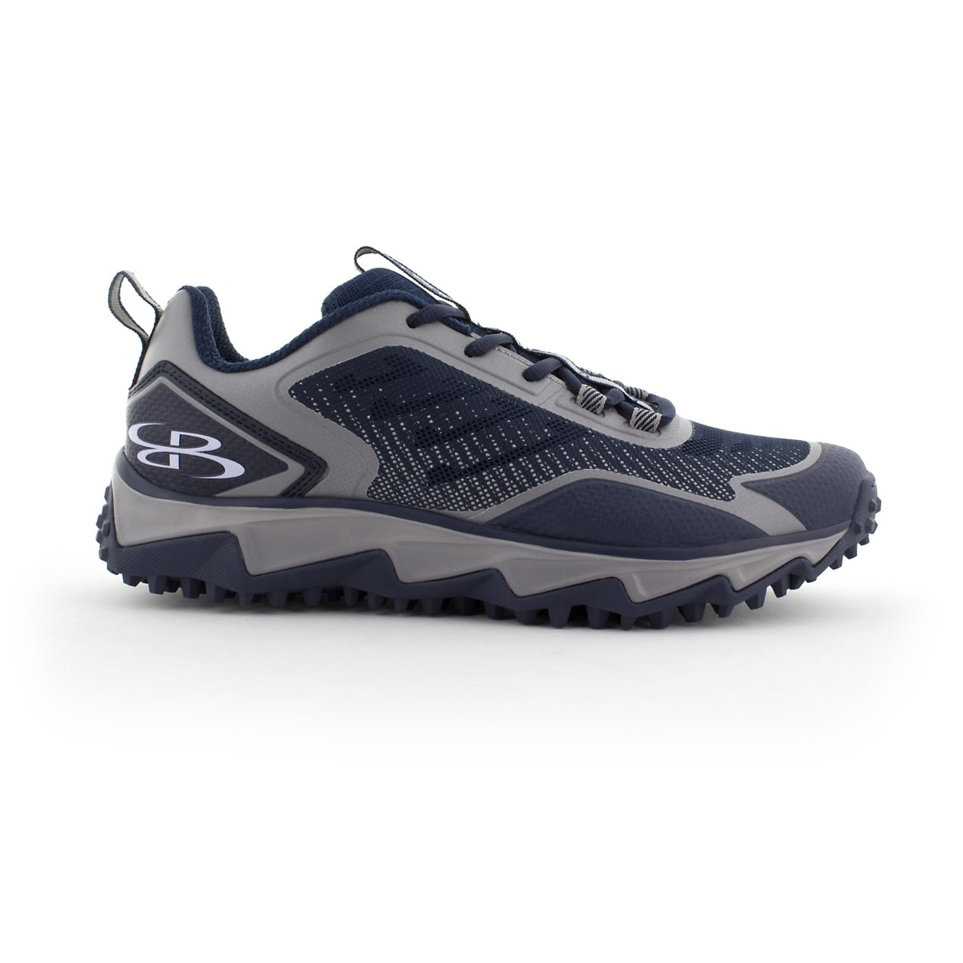 BoombahメンズBerzerk Turf Shoes – 13色オプション – 複数のサイズ B076BGM18S 12.5|ネイビー/グレー ネイビー/グレー 12.5