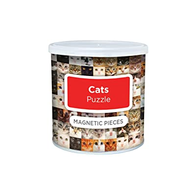 Magnetic Puzzle Cats: Toys & Games