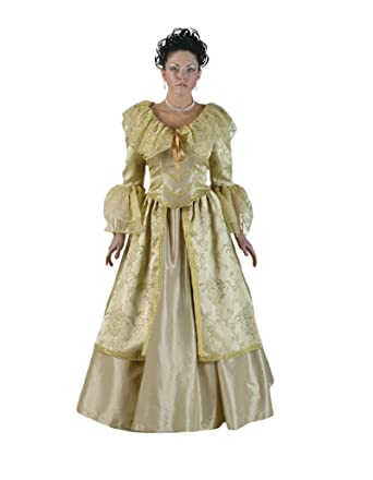 Amazon.com: Women\'s Colonial Woman Dress Theater Costume: Clothing