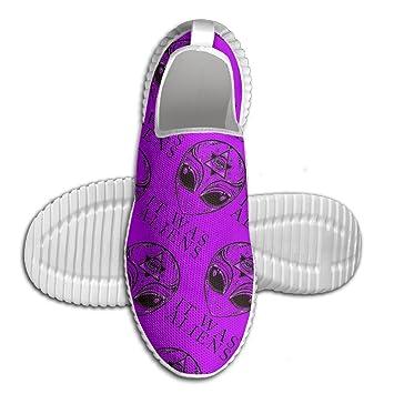 It Was Aliens Men's Anti-Slip Sneaker Mesh Walking Loafers