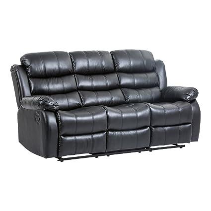 Amazon Com Bestmassage Recliner Sofa Reclining Chair Modern