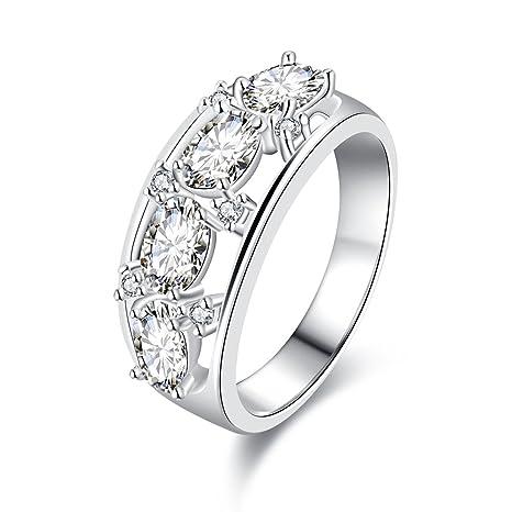 R694 – 8 elegante moda caliente Últimas Diseños de anillos de boda