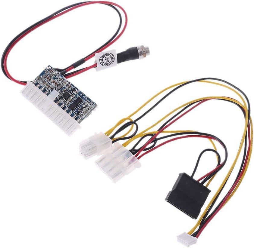 Huilier 24Pin 160W DC 12V Pico Switch PSU Car Auto Mini ITX High Power Supply Module