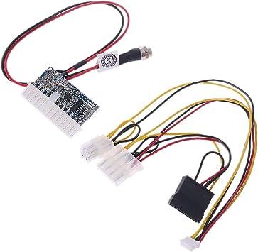 Rgeek DC 12V 120W 24Pin Pico PSU ATX Switch Auto Mini ITX Power Supply Module