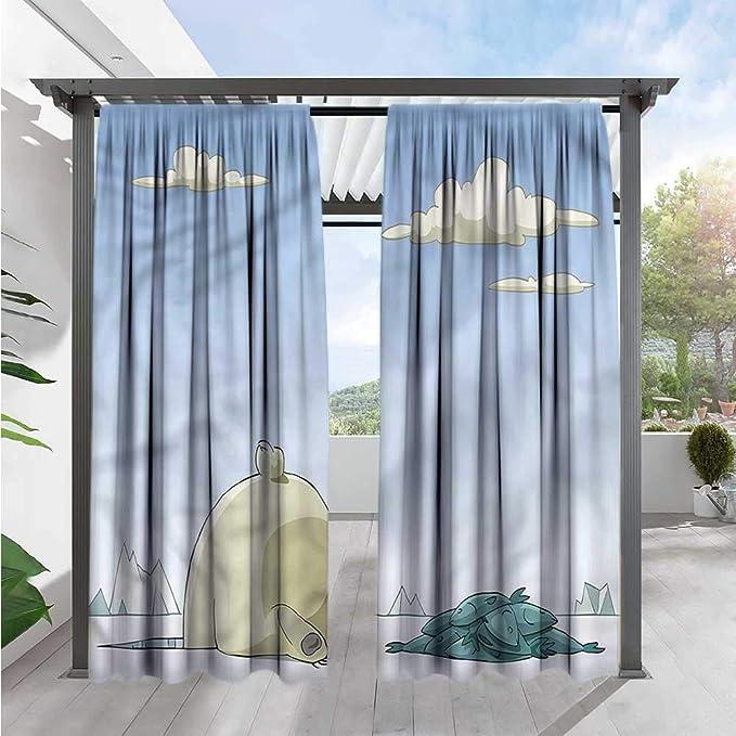 Amazon.com: Cortinas para exteriores con diseño de búho ...
