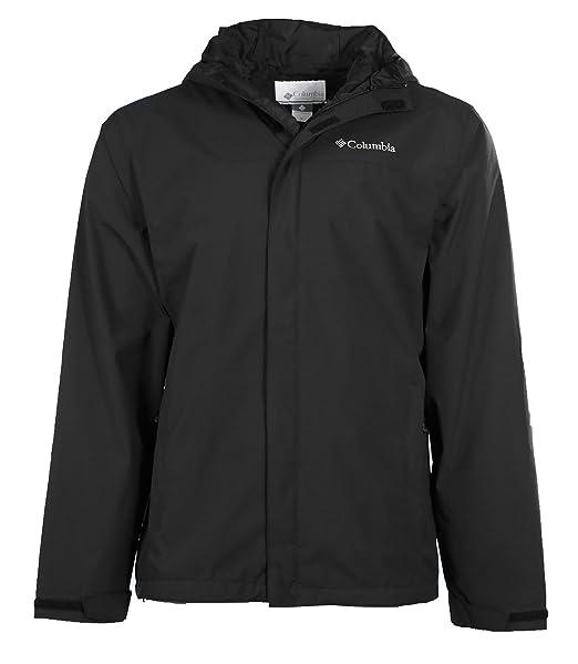 Columbia hombre Redwood pico negro con capucha chaqueta