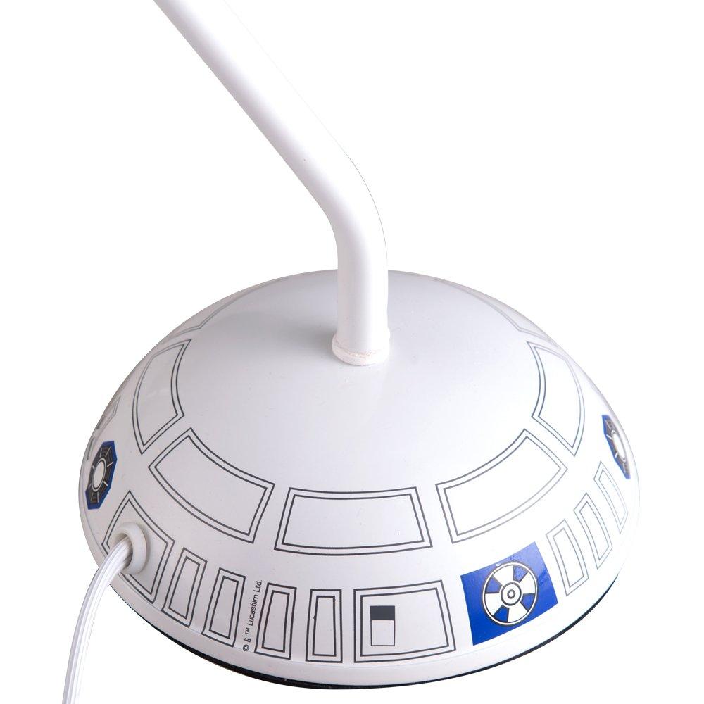 Disney Star Wars Desk Lamp, White/Blue, 17'' by Disney (Image #5)