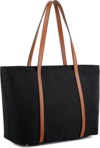Yaluxe Tote For Women Oxford Nylon Shoulder Bag