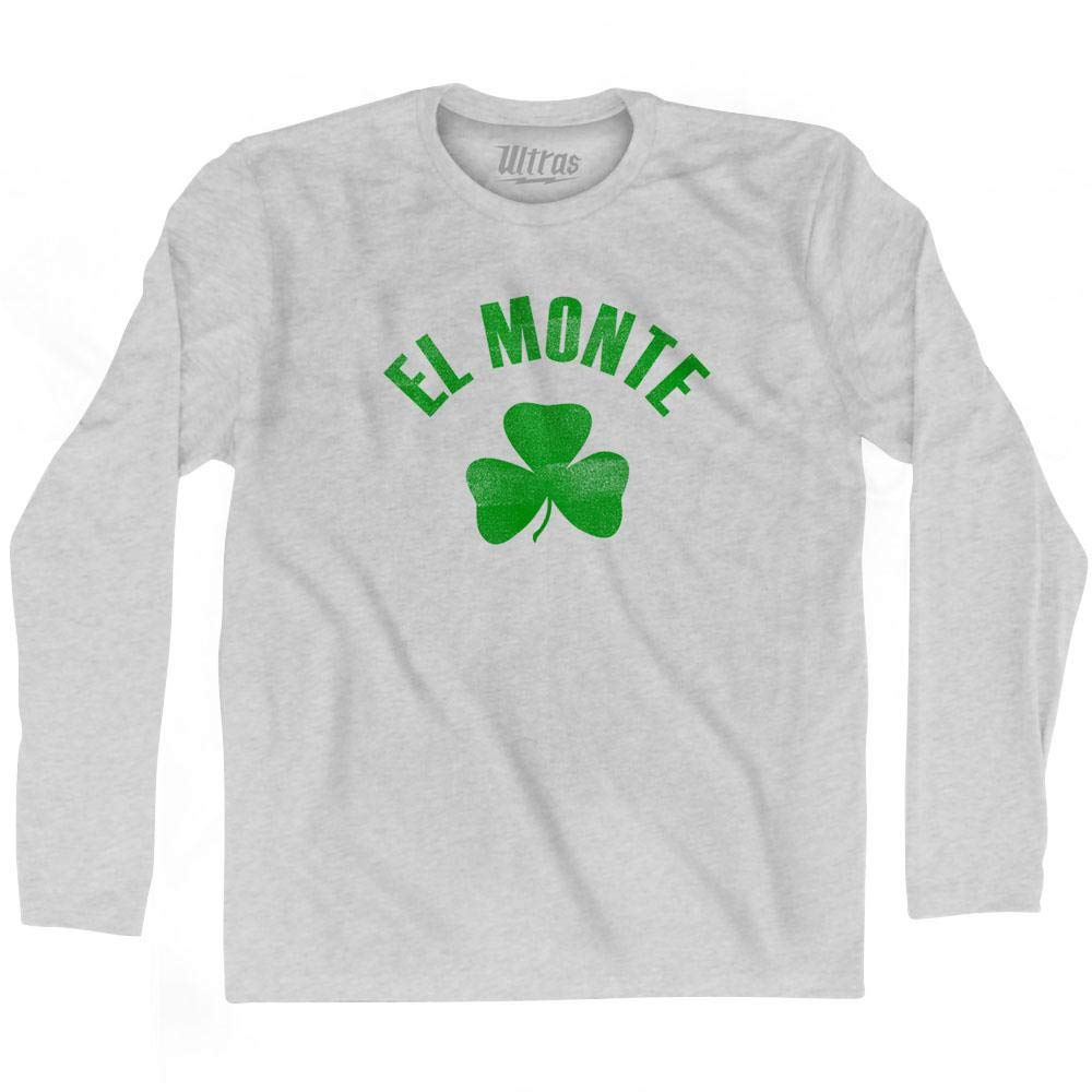 Ultras El Monte City Shamrock Cotton Long Sleeve T-Shirt