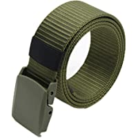 Gemini_mall® Nylon Canvas Breathable Military Tactical Men Waist Belt With Plastic Buckle