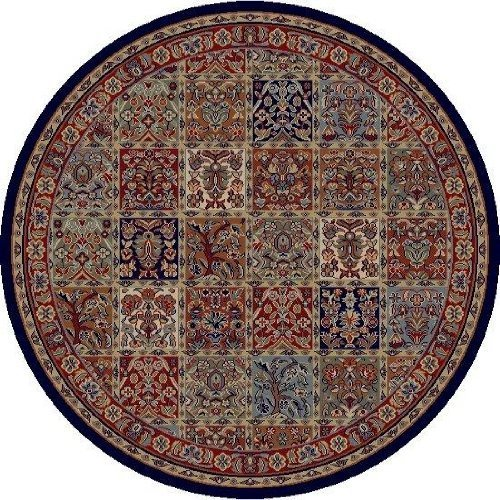 Concord Global Jewel Panel Red 5'3X7'7 - Area Rug by Concord (Concord Jewel Panel)